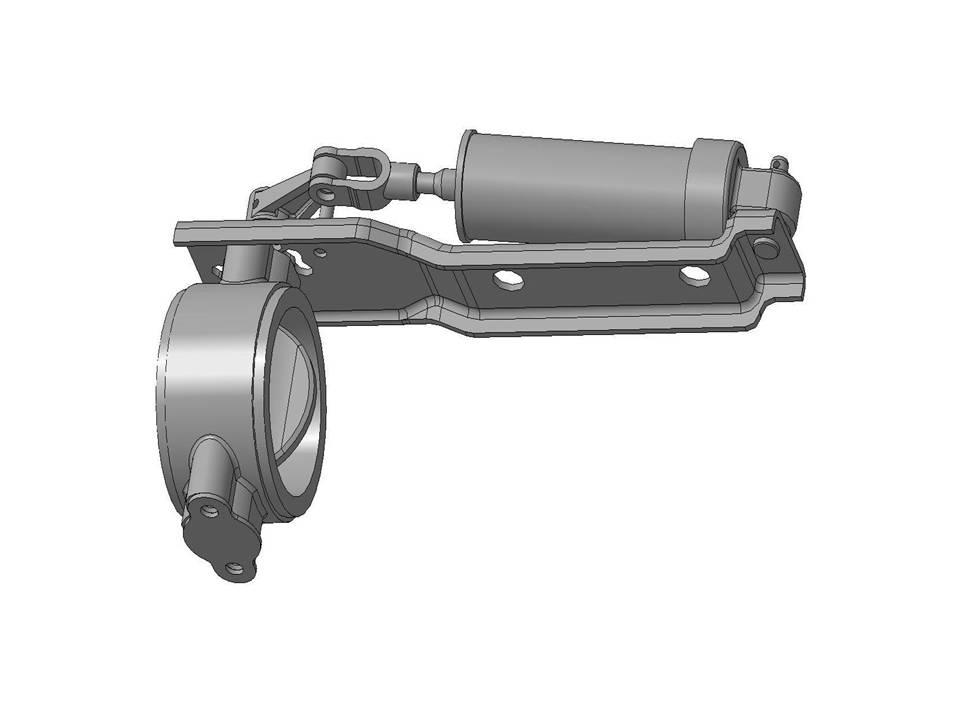 Заслонка Моторного Тормоза МАЗ 5