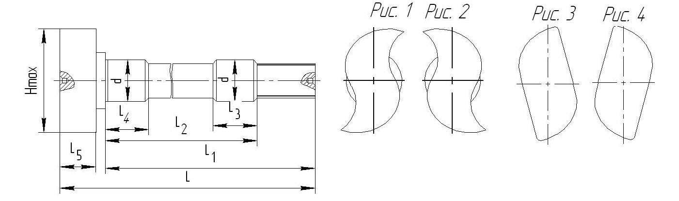 Разжимной кулак для тормозной системы МАЗ 1